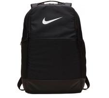 Nike Brasilia Backpack Unisex Black Medium Size 24 Litre Training Gym School Bag