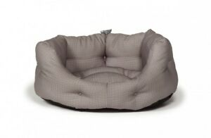 Vintage Dogstooth Deluxe Slumber Bed 40''