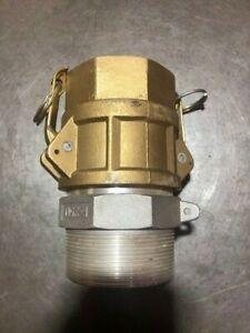 "Brass Snaplock Coupling 2.5"" D250"