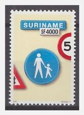 Surinam / Suriname 2002 Trafficsign 11 roadsign verkehrsschild MNH