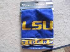New Team Effort NCAA LSU Tigers Mike jacquard premium golf towel 16x24