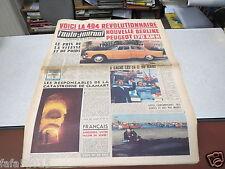L AUTO JOURNAL N° 275 29 juin 1961 Berline 404/ 24 Heures du Mans/ oldsmobile *