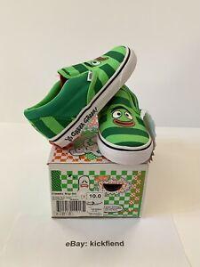 vans verde niño