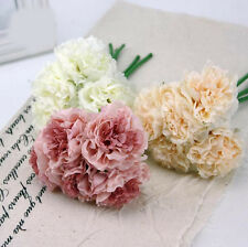 Artificial Rose Peony Silk Flower Wedding Bridal Bouquet Home Party Decor DIY