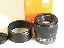 Sony SEL 50 mm f/1.8 FE per Sony-Nero