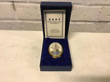 Halcyon Days Enamel Trinket Box Hms Victory Lord Nelson's Flagship w/ Box