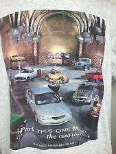 Vintage Nissan T-Shirt XL Altima Launch 1997 Car This One Belongs in the Garage