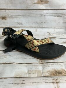 Chaco Women's Mega Z Cloud Sandals Woodstock Weekend Ticket Size 11 NIB