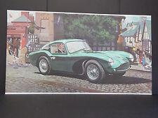 1954 Aston Martin DB-3/S Print, William J. Sims, c.1980 #06