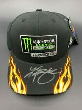 Kyle Busch Autographed Monster Energy hat
