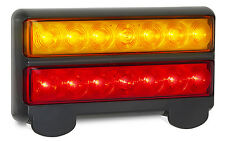 TRAILER/BOAT 1 X STOP/TAIL/INDICATOR/LICENCE LAMP 207 S  BUDGET LED AUTOLAMPS