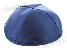 Blue Satin Yarmulke Kippah 20 cm Jewish Gift Kippa Hat Israel Cupples Judaica