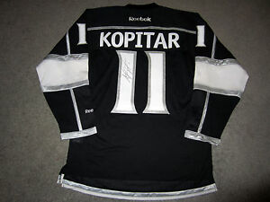 ANZE KOPITAR Los Angeles Kings SIGNED Autographed JERSEY w/ COA New Captain S