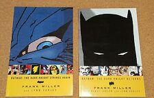 BATMAN THE DARK KNIGHT RETURNS & The Dark Knight Strikes Again S/C DC Comics NEW
