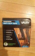 "Valiry Transparent Anti Slip Tape! 16 Pack 24""x 4"" Strips!"