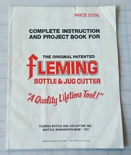FLEMING bottle and jug cutter manual