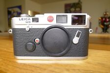 LEICA M6 0.72 RANGEFINDER CLASSIC CAMERA BODY SILVER MINT- READY TO ENJOY TODAY