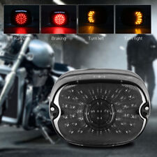 Smoke LED Tail Brake Turn Light Running Lamp For Harley Davidson Sportster Dyna