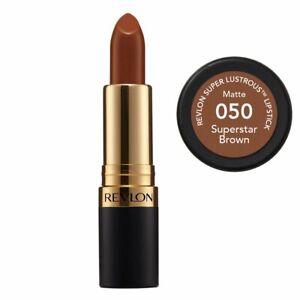 Revlon Super Lustrous Lipstick Matte - 050 Superstar Brown