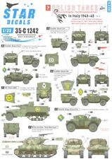 Star Decals 1/35 Polish Tanks In Italy 1943-1945 Part 2 Tanks & Afvs