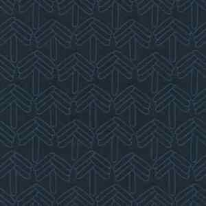 5 yds Stick Tree 798 Maharam Kvadrat Blue Upholstery Fabric Free Ship C6406