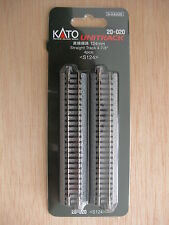 Kato - ref.20-020 - 4 vías rectas 124 mm