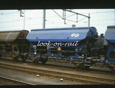 N1222 - Dia slide 35mm original Eisenbahn Holland, NS Selbstentladewagen, '90s
