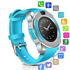 Bluetooth Smart Watch Touchscreen SIM Card Slot Unlocked for Mobile Cell Phones