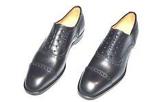 New PAOLO SCAFORA Dress Leather Luxury Shoes Size Eu 44.5 Uk 10.5 Us 11.5  Cod 8