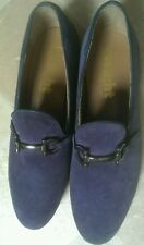 Mens Frank Wright blue  suede shoes. Size 8 New no box