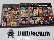 2015 Star Wars 6 in 1 Games Replacement 4 Bingo Placards Parts Only Play Cards