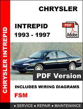CHRYSLER INTREPID 1993 1994 1995 1996 1997 SERVICE REPAIR WORKSHOP MANUAL