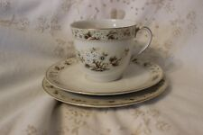 Royal Doulton Mandalay Tasse et Soucoupe Cup Saucer Side Plate Trio