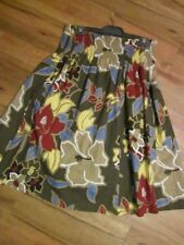 BEAUTIFUL COTTON/LINEN SKIRT SIZE 12 BY SUZANNEGRAE