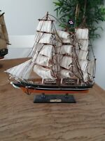 Wooden Model Cutty Sark 1869 On Wooden Stand ( Please Read Description) Vintage
