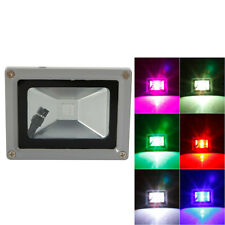 Lot10 RGB 10W Memory LED Flood Light Landscape Lamp Waterproof + Remote Control