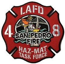 LAFD Station 48 SAN PEDRO HAZ-MAT TASK FORCE New JUNE 2019 (CALI) FIRE PATCH