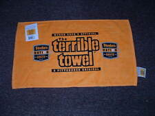MYRON COPE'S THE TERRIBLE TOWEL PITTSBURGH STEELERS NATION UNITE EDITION NWT