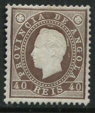 Angola 1886 40 reis mint o.g. hinged