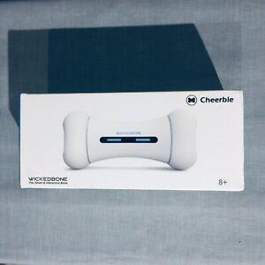 EUC -Wickedbone Smart Bone, Automatic & Interactive Toy for Dog WHITE W/ APP