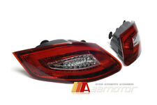 Taillights LED Tail Rear Light RED/ CLEAR for 05-08 PORSCHE BOXSTER 987 CAYMAN