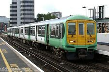 Southern 319012 on loan to FCC Blackfriars 2007 Rail Photo