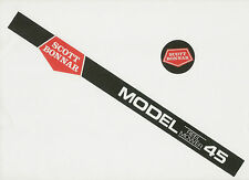 Rover-Scott Bonnar Model 45 Vintage Mower Black Decals