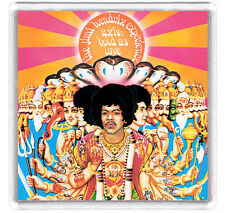 THE JIMI HENDRIX EXPERIENCE AXIS BOLD AS LOVE 1968  LP FRIDGE MAGNET IMAN NEVERA