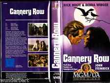 VHS - John Steinbeck's Cannery ROW ( Straße der Ölsardinen ) - (1982) Nick Nolte