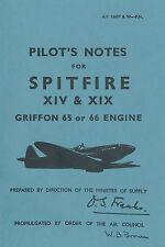 SUPERMARINE SPITFIRE XIV & XIX / GRIFFON 65 OR 66 ENGINE / A.P.1565T & W - PN