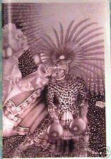 "Native American Navajo Indian ""LEOPARD MAN"" blank card from original artwork"