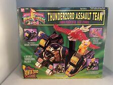 1994 MMPR Power Rangers Thunderzord Assault Team near complete