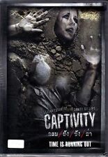 Captivity [DVD PAL COLOR] (2007) Elisha Cuthbert, Cult Torture Thriller
