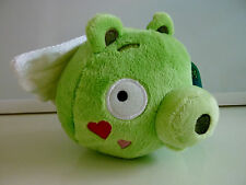 """Angry Birds Plush Pig with Wings Cupid Valentines Seasons Stuffed 5"""" NEW NWT"""